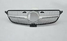 1*ABS Vent Front Grille Mesh Grill Grilles For Mercedes Benz GLE W166 2015-2016