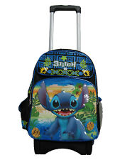 "A14240 Stitch Large Custom Rolling Backpack 16"" x 12"" x 5"""