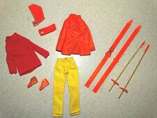 Barbie:  VINTAGE Complete SKIING SCENE Outfit!