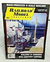 Railroad Model Craftsman Magazine September 1991 Z N HO S O G vintage