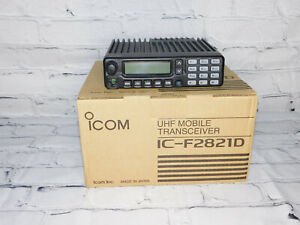 Icom F2821D UHF R2 450-512mhz P25 45w Mobile radio with AES/DES Encryption XTL