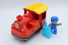 LEGO Duplo Eisenbahn - E-Lok Dampflok / Modell ab 2018 / Push & Go / aus 10874