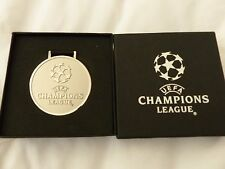 UEFA CHAMPIONS LEAGUE/ EUROPEAN CUP MEDAL BOXED REAL MADRID AC MILAN JUVENTUS