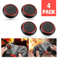 4x Slim Extended Controller Thumb Grip Caps Cover for PS4 PS3 Xbox One 360 Wii O