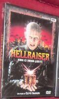 DVD FILM HORROR CULT MOVIES CLIVE BARKER-HELLRAISER 1,NON CI SONO LIMITI pinhead