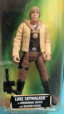 STAR WARS POTF (Freeze Frame) Luke Skywalker Ceremonial Outfit Gear 1997 HASBRO