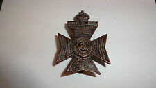 The King's Royal Rifle Corps British Army/Military Hat/Cap Badge