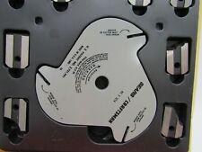 Sears Craftsman Triple-Cutter Molding Head Set 9-3217 Open Box 24 Blade Head