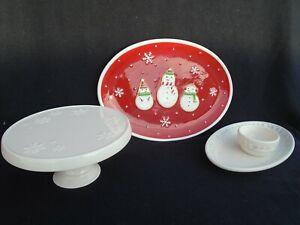 Hallmark Holiday Platters