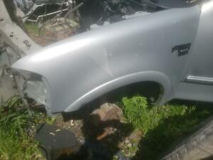 2002 Ford F-150 Pickup Front Driver Left Side Fender Silver Paint Code:YN