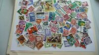 2166           lot 100 timbres seconds plusieurs pays