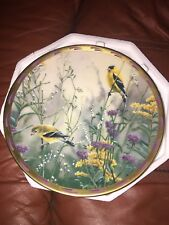 "Lenox Collector Plate ""Golden Splendor"" From The Nature'S Collage Collection"