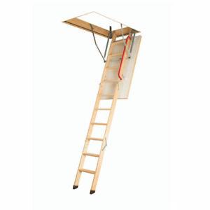 2in1 Loft Ladder Fakro LWK Komfort & Insulated Loft Hatch 55x111cm or 60x120cm