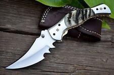 BDS CUTLERY HAND MADE RARE D2 TOOL STEEL POCKET FOLDING KNIFE| LINER LOCK | U-20