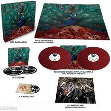 OPETH - SORCERESS, LTD EDN ROSEWOOD vinyl 2LP + 2CD + AUDIO DVD + POSTER BOX SET