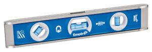 Empire True Blue 10 in. Aluminum Magnetic Torpedo Level 3 vial