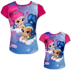 Shimmer & Modèle Shine T-Shirt Chemise Manches Courtes Haut Gr.92-116 CM JV22