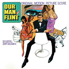 NOTRE HOMME FLINT (OUR MAN FLINT) MUSIQUE DE FILM - JERRY GOLDSMITH (CD)