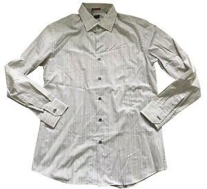 Paul Smith London Ls Streifen Hemd Größe 16.5/42 p2p 57.1cm