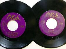 MAJOR LANCE lot of 2x45 rpm SOUL O'keh Records  Dm806