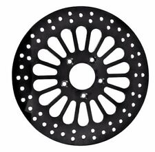 11.8 BLACK FAT SPOKE BRAKE DISC ROTOR REAR HARLEY ELECTRA GLIDE STREET ROAD KING