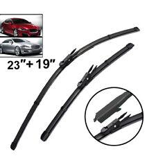 23''+19''  Windshield Wiper Blades Front Window Fit For Jaguar 07-15 XF 10-17 XJ