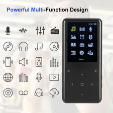 16GB Bluetooth HiFi Touch MP3 MP4 Player Audio Loseless FM TF Recording APE FLAC