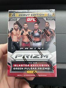1 Panini Prizm UFC 2021 Blaster Box Debut Edition (Factory Sealed) Free Shi