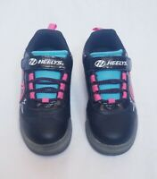 Heelys Pow X2 Lighted Kids Roller Skates Shoe Sneaker sz 2M US Little Kid