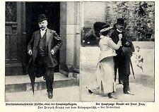 Der Prozeß Krupp vor dem Kriegsgericht Oberintendantursekr.Pfeiffer Zeuge...1913
