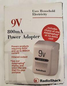 RadioShack 273-1667 Multi-Voltage 800mA Power Adapter New Old Stock