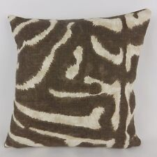 Ralph Lauren Serengeti Pillow Cushion Cover Animal Print Linen Fabric