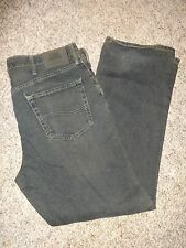 Lee Men's Jeans Relaxed Sraight Leg Faded Distressed 36 x 32