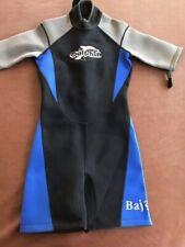 Blue Dolphin Short Sleeve Wet Suit front zipper  Sz M