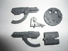 Warhammer 40k Spc Marine Razorback Land Raider Twin Linked Assault Cannon Turret