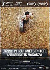 Dvd L'ANNO IN CUI I MIEI GENITORI ANDARONO IN VACANZA - (2006) ......NUOVO