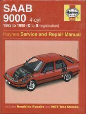 SAAB 9000 2.0 & 2.3 PETROL ( INCL TURBO ) 1985 - 1998 SERVICE & REPAIR MANUAL
