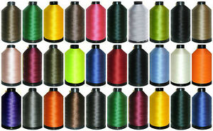 STRONG BONDED NYLON THREAD 40'S, 3000MTR, UPHOLSTERY, 30 COLOURS, FREE P&P