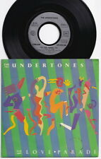 The UNDERTONES * The Love Parade * 1982 French 45 * IRISH PUNK POWER POP *