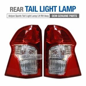 OEM Rear Tail Light Lamp Assembly LH RH for SSANGYONG 2014 - 2017 Actyon Sports