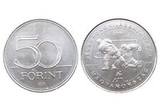 Hungary, 50 Forint, 2018, Ice Hockey World Championship, UNC, New
