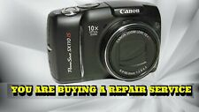 CANON SX110 IS CAMERA REPAIR SERVICE-ALL REPAIRS WARRANTIED-FREE RETURN SHIPPING