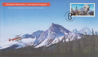CANADA 2018 EMERGENCY RESPONDERS SEARCH AND RESCUE EXPERTS FIRST DAY COVER