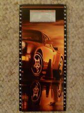 1991 Porsche Owner's Driving School Folder + Schedule, RARE!! Awesome L@@K VG