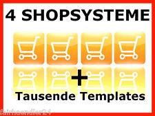 ✰ 4x negozio web negozio sistema negozio online negozio online shop software Web progetto e-licenza