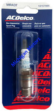 MerCruiser Ignition Marine Spark Plug - AC Delco MR43T - 33-898264001