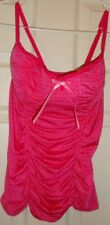VICTORIA'S/SECRET~ladies~PINK/CAMISOLE! (M) N/W/TAGS! $35.00 REALLY/CUTE!