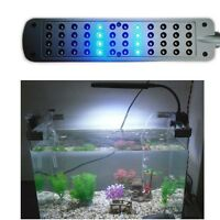 Aquarium Fish Tank 48 LED Clip On Light Lamp Sump with 2 Modes and Flexible Arm
