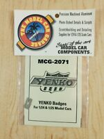 The Model Car Garage  1/24 1/25  MCG-2071 Yenko Badges