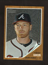 Tommy Hanson--2011 Topps Heritage Chrome Baseball Card--Atlanta Braves